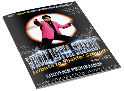 Whole Lotta Shakin high quality Glossy Theatre Tour Programme